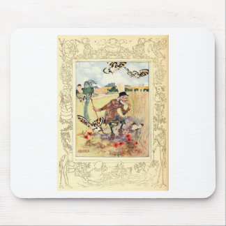 Alice in Wonderland Aged Aged Man Mousepad