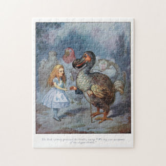 Alice in Wonderland Alice and the Dodo Puzzle