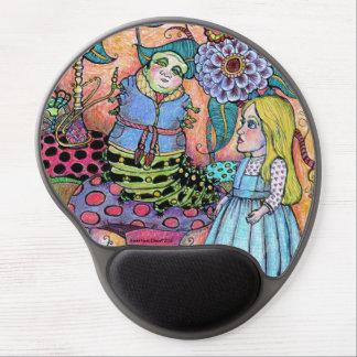 Alice in Wonderland, Alice Meets the Caterpillar Gel Mouse Mat