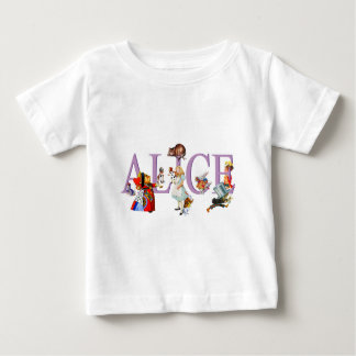 Alice in Wonderland and Friends Baby T-Shirt