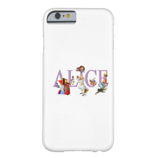 Alice in Wonderland and Friends Barely There iPhone 6 Case