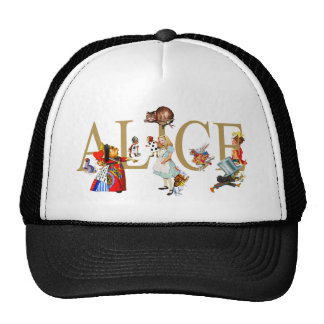 ALICE IN WONDERLAND AND FRIENDS HAT