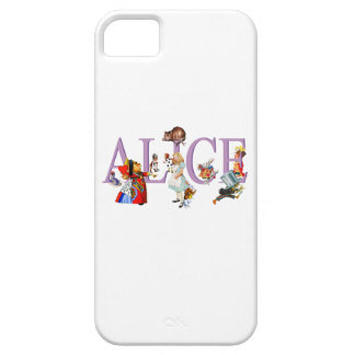 Alice in Wonderland and Friends iPhone 5 Case
