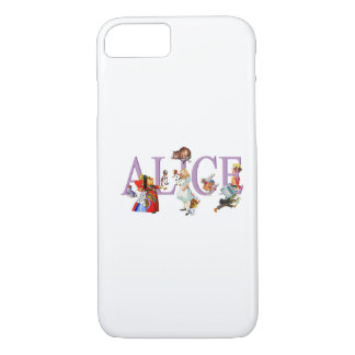 Alice in Wonderland and Friends iPhone 7 Case