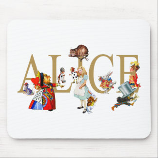 ALICE IN WONDERLAND AND FRIENDS MOUSEPADS