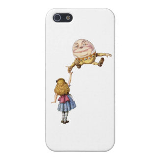 Alice in Wonderland and Humpty Dumpty iPhone 5 Cases
