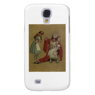 Alice in Wonderland and the Duchess and the Pig Samsung Galaxy S4 Covers