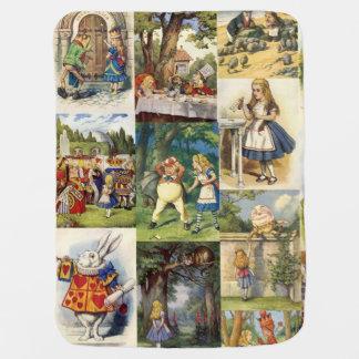 Alice in Wonderland Baby Blanket