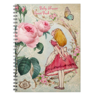 Alice in Wonderland Baby Shower Guest Book