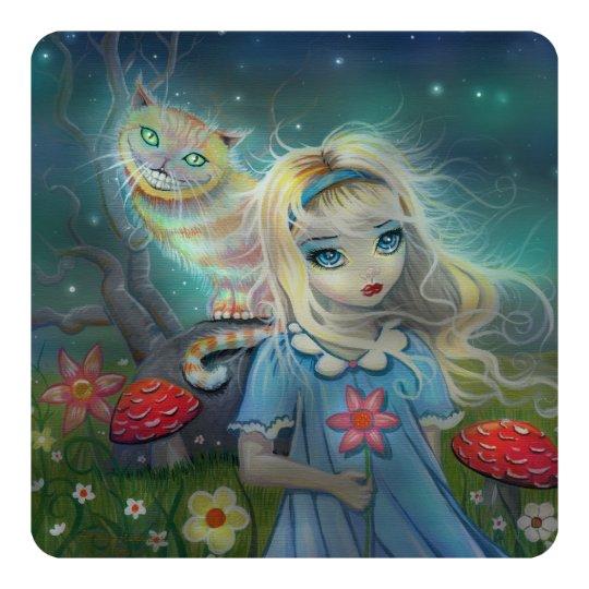 Alice in Wonderland Birthday Party Invites