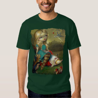 Alice in Wonderland Bosch Birds SHIRT lowbrow goth