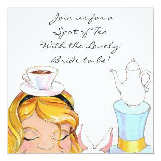 Alice In Wonderland Bridal or Baby Shower Invite