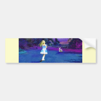 Alice in Wonderland Bumper Sticker