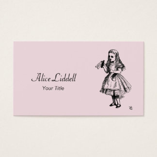 Alice in Wonderland Business Card