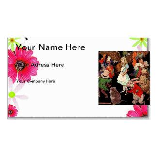 Alice in Wonderland Business Card Templates