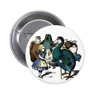 Alice in Wonderland button Children s story dodo