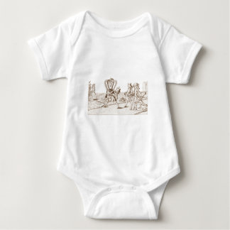 Alice in Wonderland By Lewis Carroll Sepia Tint T Shirts