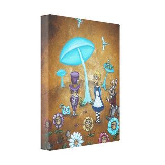 Alice in Wonderland Canvas Print - In Wonder