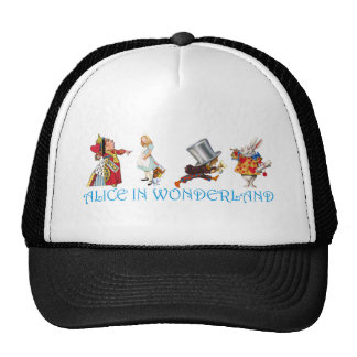 ALICE IN WONDERLAND CAP