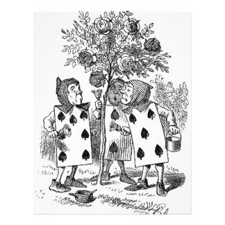 Alice in Wonderland Card Soldiers Flyer Design