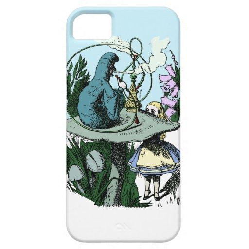 Alice in Wonderland Catepillar Hookah iphone 5 iPhone 5 Case