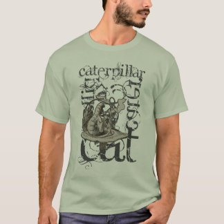 Alice In Wonderland Caterpillar Grunge (Single) T-Shirt
