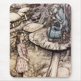 Alice in Wonderland Caterpillar Mouse Pad