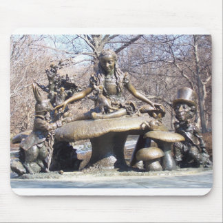 Alice in Wonderland Central Park Mouse Mat