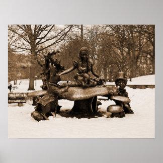 Alice in Wonderland – Central Park Poster
