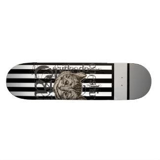 Alice In Wonderland Cheshire Cat Grunge 20 Cm Skateboard Deck