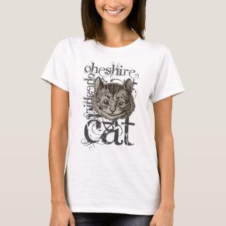 Alice In Wonderland Cheshire Cat Grunge (Single) T-Shirt