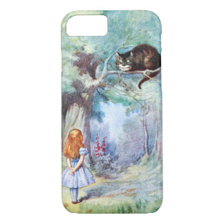 Alice in Wonderland Cheshire Cat iPhone 7 case