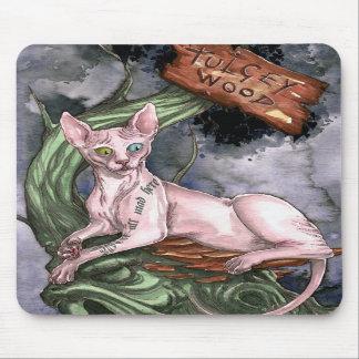 Alice in Wonderland Cheshire Cat Mousepad