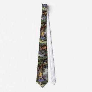 Alice in wonderland cheshire cat tie