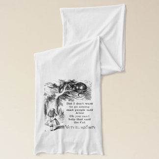 Alice in Wonderland; Cheshire Cat with Alice Scarf
