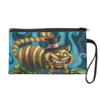 Alice in Wonderland Cheshire Cat Wristlet Purse