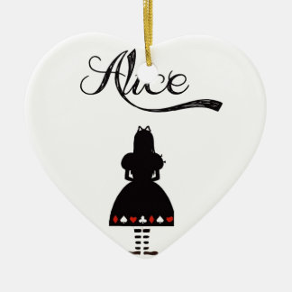 Alice In Wonderland Christmas Ornament