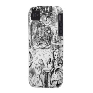 Alice in Wonderland Collage Case-Mate iPhone 4 Covers