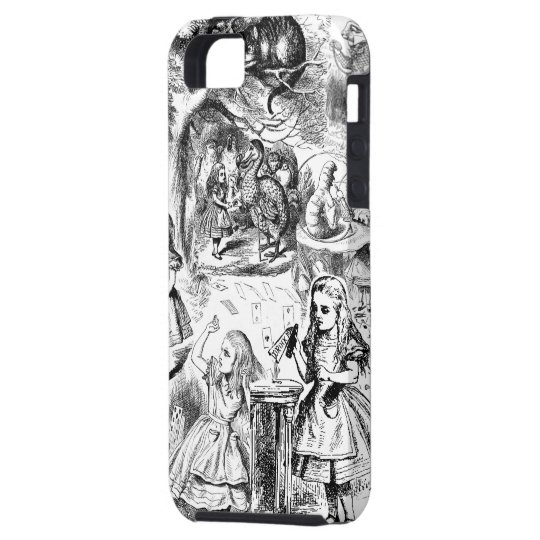 Alice in Wonderland Collage Case For The iPhone