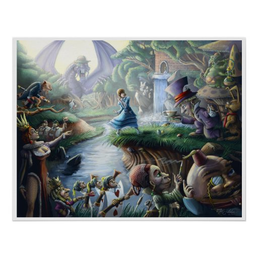 Alice In Wonderland : Controlled Chaos Poster