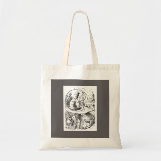 ALICE IN WONDERLAND COTTON TOTE