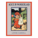 Alice in Wonderland Cover Post Card