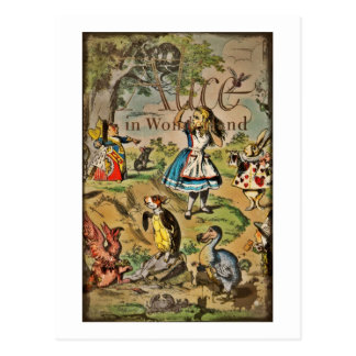 Alice in Wonderland Cover Postcards