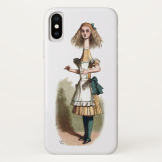 Alice in Wonderland Curiouser iPhone X Case