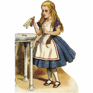 Alice in Wonderland Cutout Standup Standing Photo Sculpture