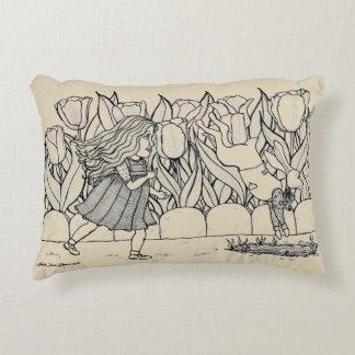 Alice in Wonderland Decorative Cushion