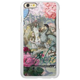 Alice in Wonderland Dodo  Vintage Pretty Collage iPhone 6 Plus Case
