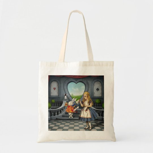 Alice in Wonderland Drink Me Budget Tote