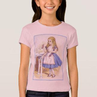 Alice in Wonderland - Drink Me - by Tenniel Shirts