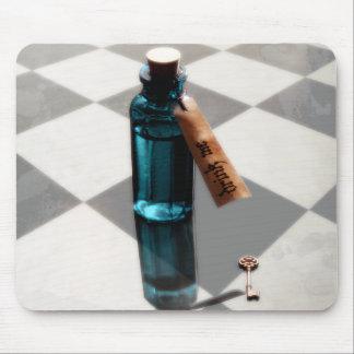 Alice in Wonderland DRINK ME Mousepad